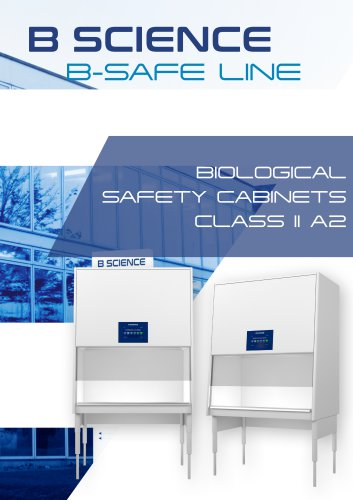 BIOLOGICAL SAFETY CABINETS CLASS II A2