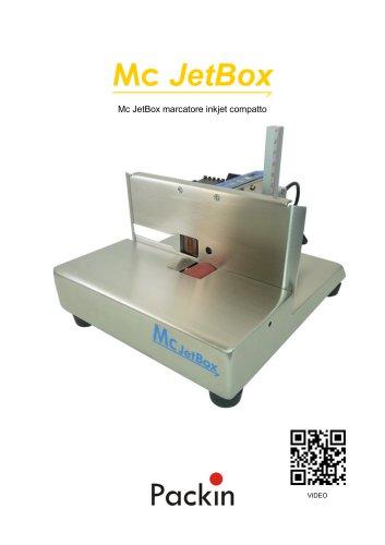JetBox-Mc Marcatore inkjet da tavolo