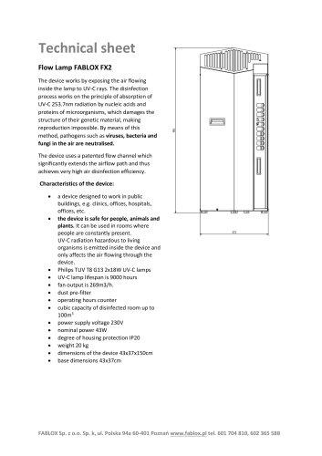 Technical sheet FX2