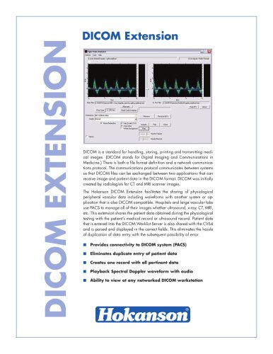 DICOM Extension Brochure