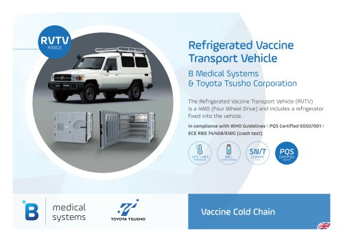 Refrigerated Vaccine Transport Vehicle