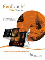EvoTouch+7StarScope: Ultrasound guided Micro-Endoscopy