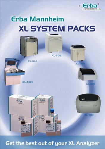 Erba XL SYSTEM PACKS