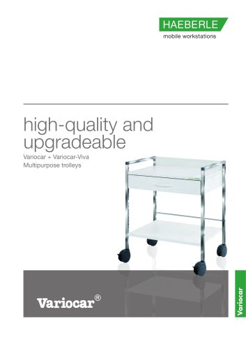 Variocar - multipurpose trolleys