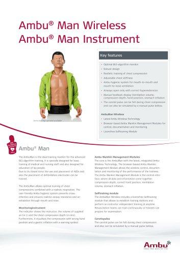 Ambu® Man Wireless_Instrument