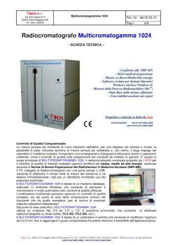 Radiocromatografo Multicromatogamma
