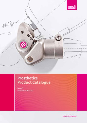 Prosthetics Product Catalogue