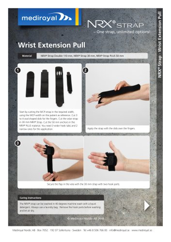 Wrist Extension Pull