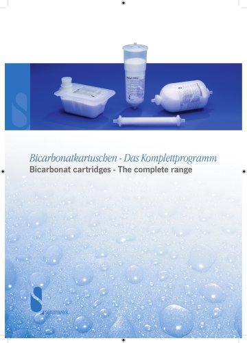 Bicarbonate cartridges - The complete range