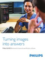 Philips QLAB 10 advanced ultrasound quantification software