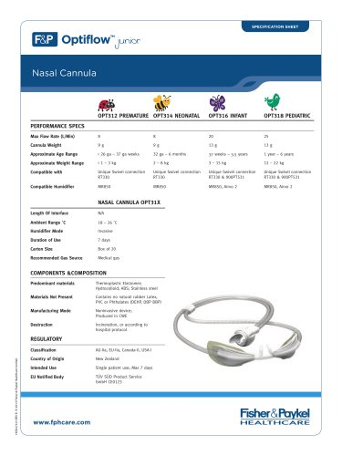 Optiflow™ Junior Nasal Cannula