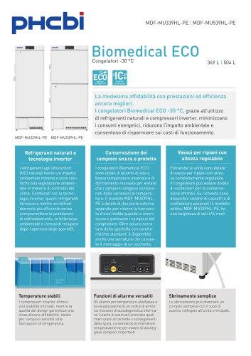 Congelatori Biomedical ECO -30 °C