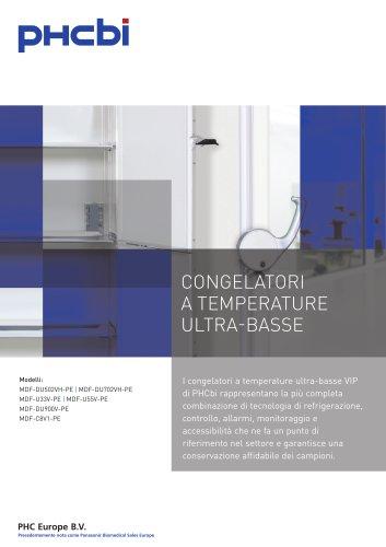 CONGELATORI A TEMPERATURE ULTRA-BASSE