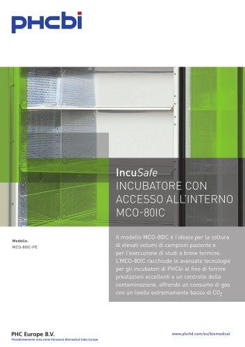 IncuSafe INCUBATORE CON ACCESSO ALL'INTERNO MCO-80IC