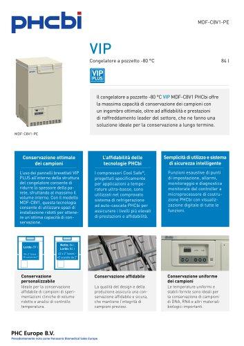 MDF-C8V1-PE Congelatore a pozzetto -80 °C