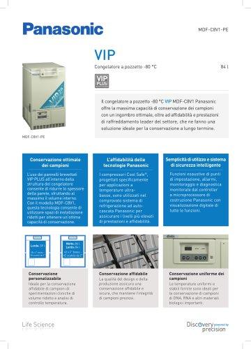 MDF-C8V1 VIP Congelatore a pozzetto -80 °C