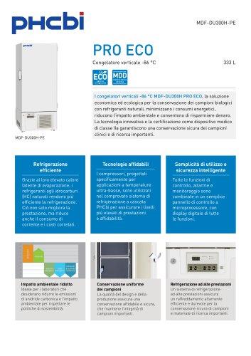 MDF-DU300H-PE Congelatore verticale -86 °C