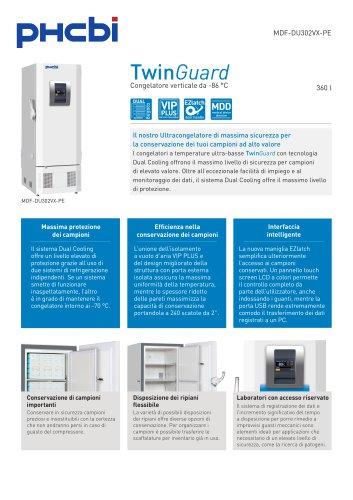 MDF-DU302VX-PE Congelatore verticale da -86 °C
