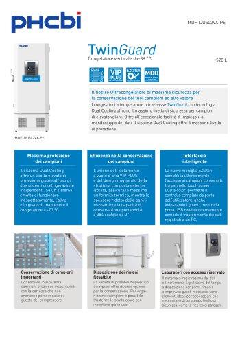 MDF-DU502VX-PE Congelatore verticale da-86 °C