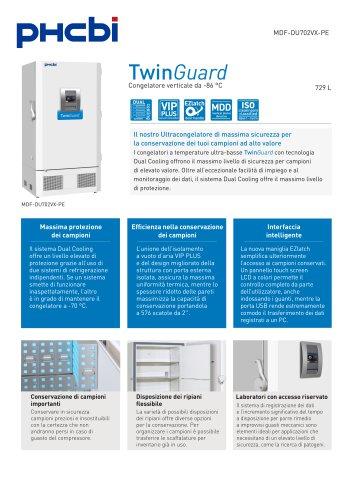 MDF-DU702VX-PE Congelatore verticale da -86 °C