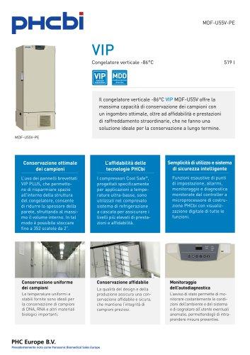 MDF-U55V-PE Congelatore verticale -86°C