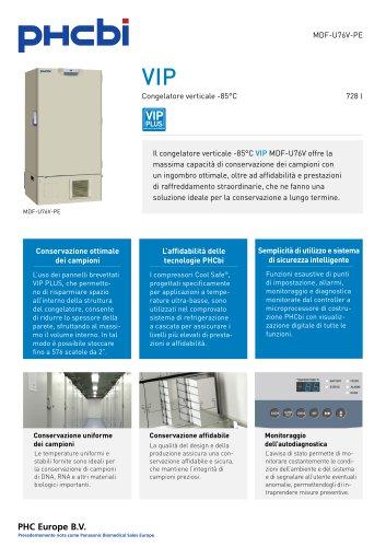 MDF-U76V-PE Congelatore verticale -85°C