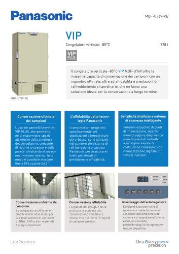 MDF-U76V VIP Congelatore verticale -85°C