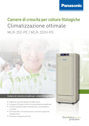 MLR-352 352H Camere di crescita per colture fitologiche