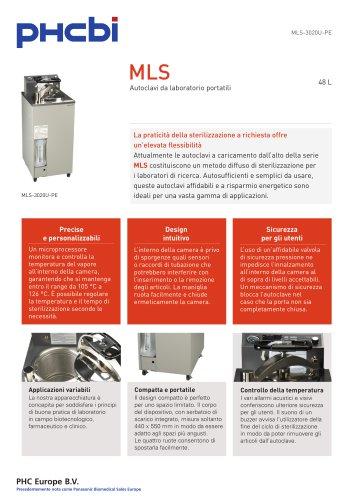 MLS-3020U-PE Autoclave da laboratorio portatili