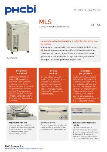 MLS-3751L-3781L Autoclavi da laboratorio portatili