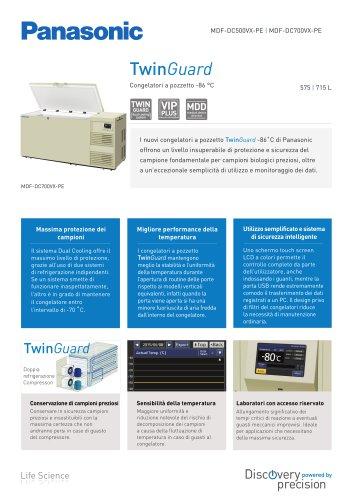 TwinGuard Congelatori a pozzetto -86 °C