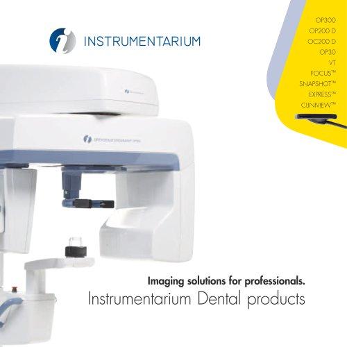 Instrumentarium Dental products