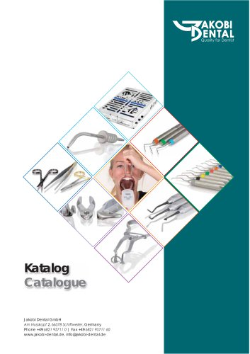Jakobi catalogue