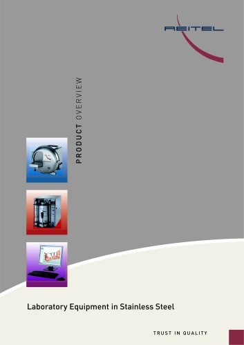 Laboratory Equipment in Stainless Steel