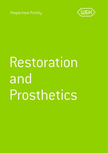 Collection brochure Restoration and Prosthetics
