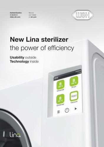 New Lina sterilizer the power of efficiency