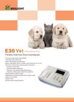 E30vet ECG machine