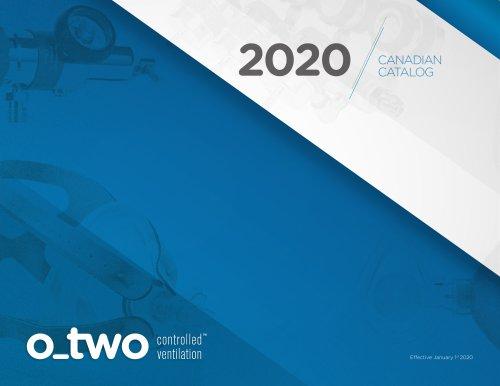 2020 CANADIAN CATALOG