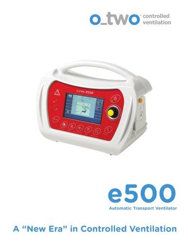 e500 Ventilator