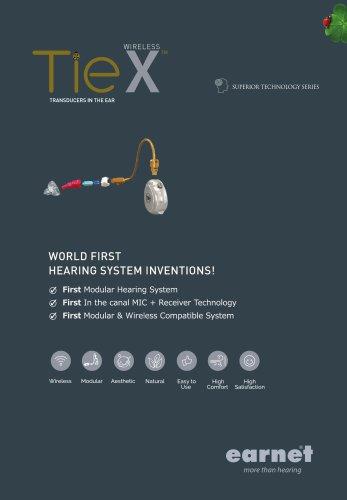 TIE X Series Catalogue