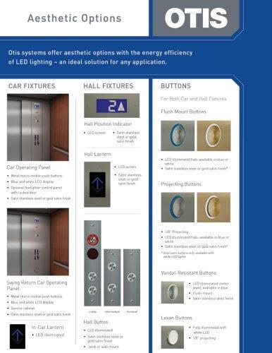 Cab Design Brochure Aesthetic Options