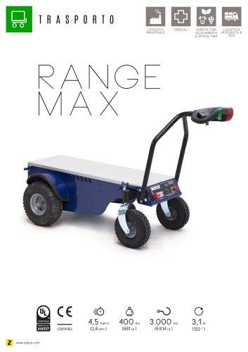 RANGE MAX Trasportatore elettrico 4 ruote