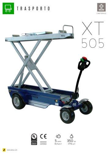 XT505 carrello elettrico con sollevamento