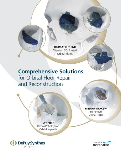 Comprehensive Solutions for Orbital Floor Repair and Reconstruction