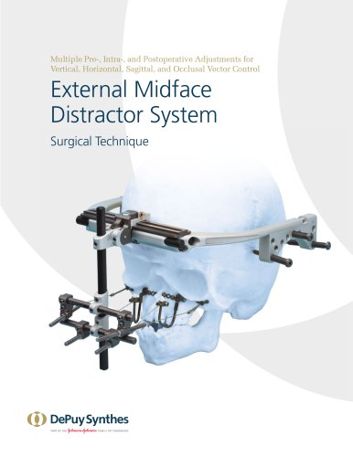 External Midface Distractor System