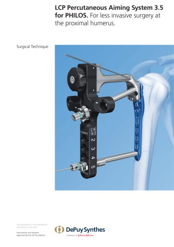 LCP Percutaneous Aiming System 3.5 for PHILOS.