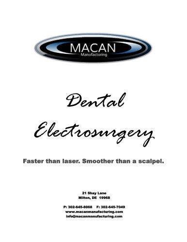 Dental Electrosurgery