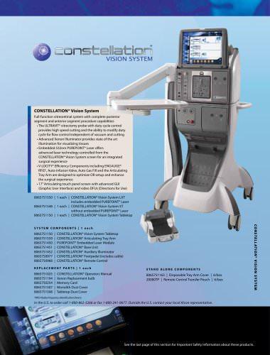 CONSTELLATION® Vision System