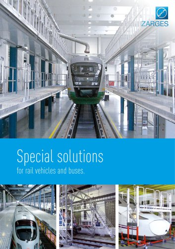 Special solutions for rail vehicles and buses