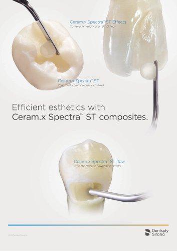 Ceram.x Spectra™ ST composites.